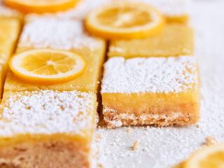 Meyer Lemon Brown Butter Bars