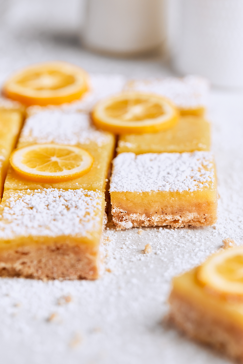 Meyer Lemon Brown Butter Bars