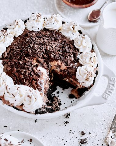 Chocolate Espresso Ice Cream Pie