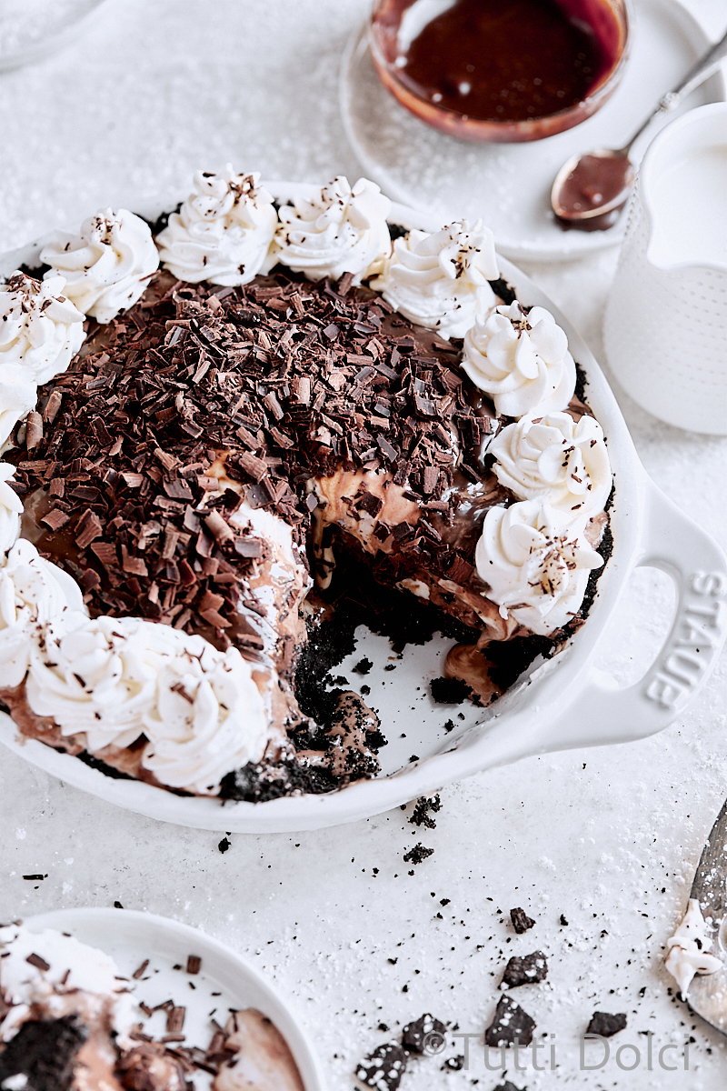 Chocolate Espresso Ice Cream Pie