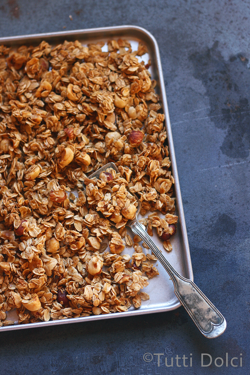 Honey Hazelnut Granola