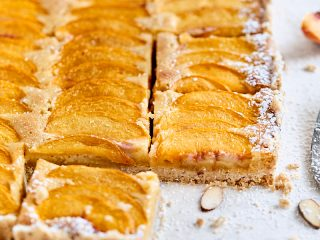 Peach Almond Tart