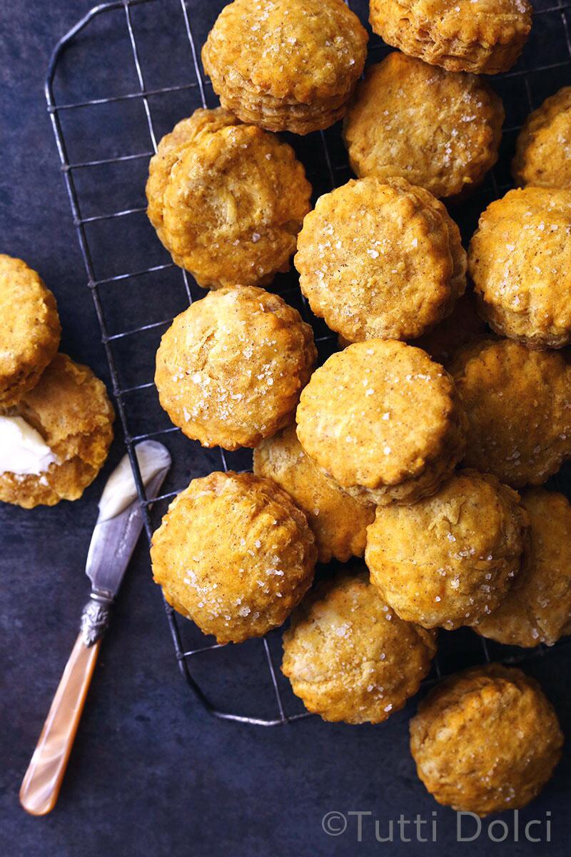 Pumpkin Spice Biscuits | Tutti Dolci