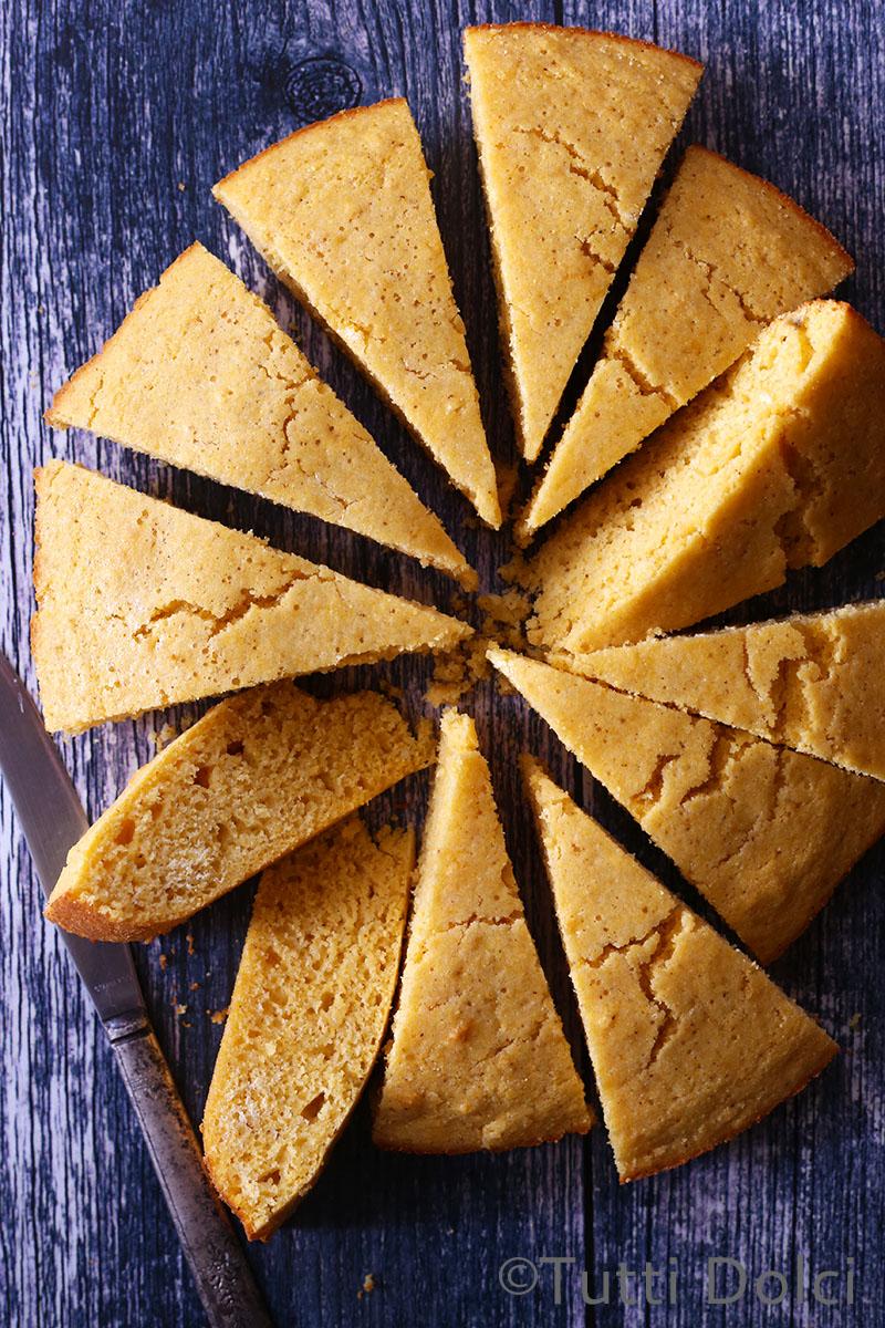 Brown Butter Maple Cornbread   Tutti Dolci