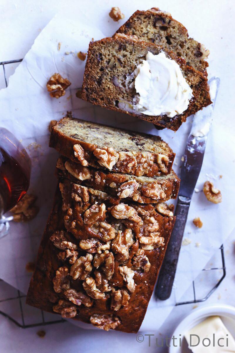 Bourbon Vanilla Banana Bread