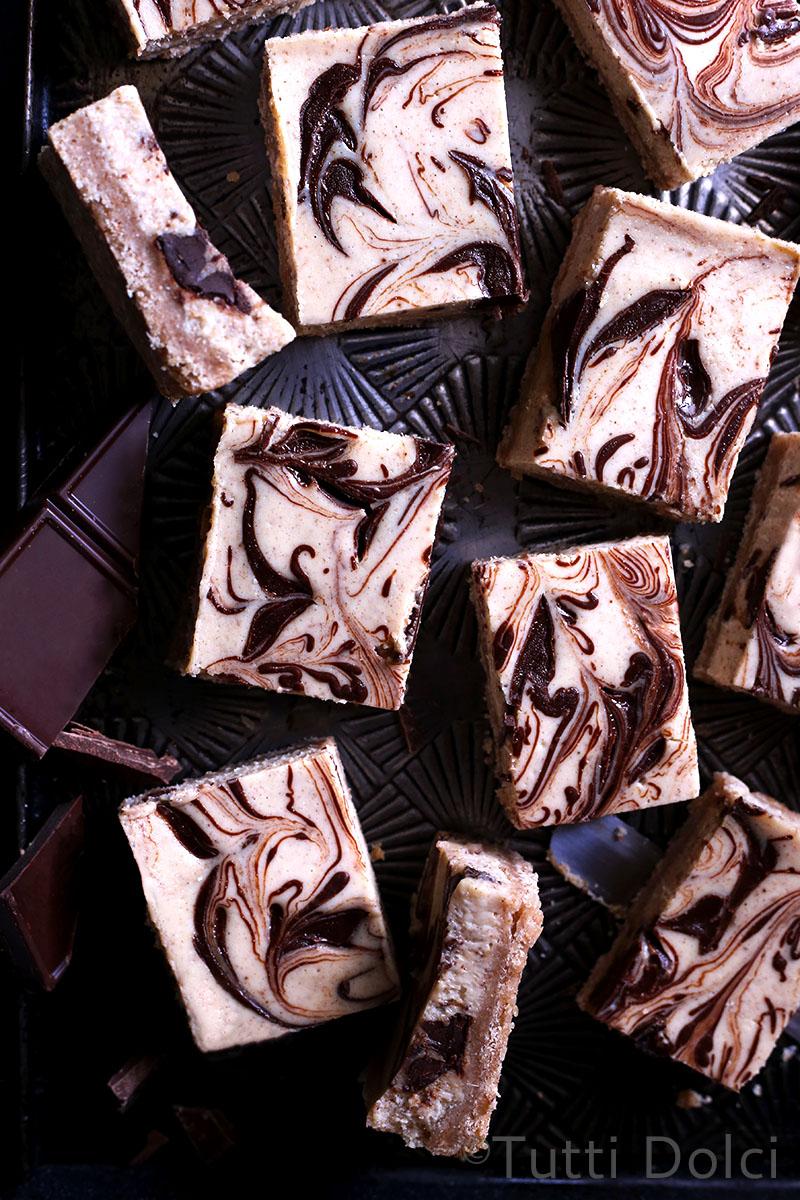 Chai Spice Cheesecake Bars