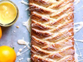 Meyer Lemon Danish Braid