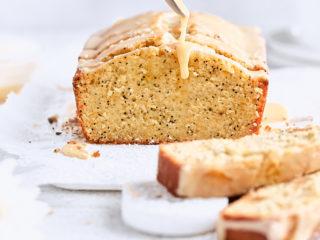 Orange Almond Poppy Seed Tea Cake