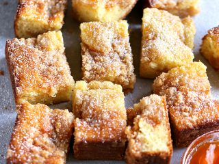 Apricot Almond Coffee Cake
