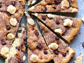 S'mores Snickerdoodle Cookie Bars