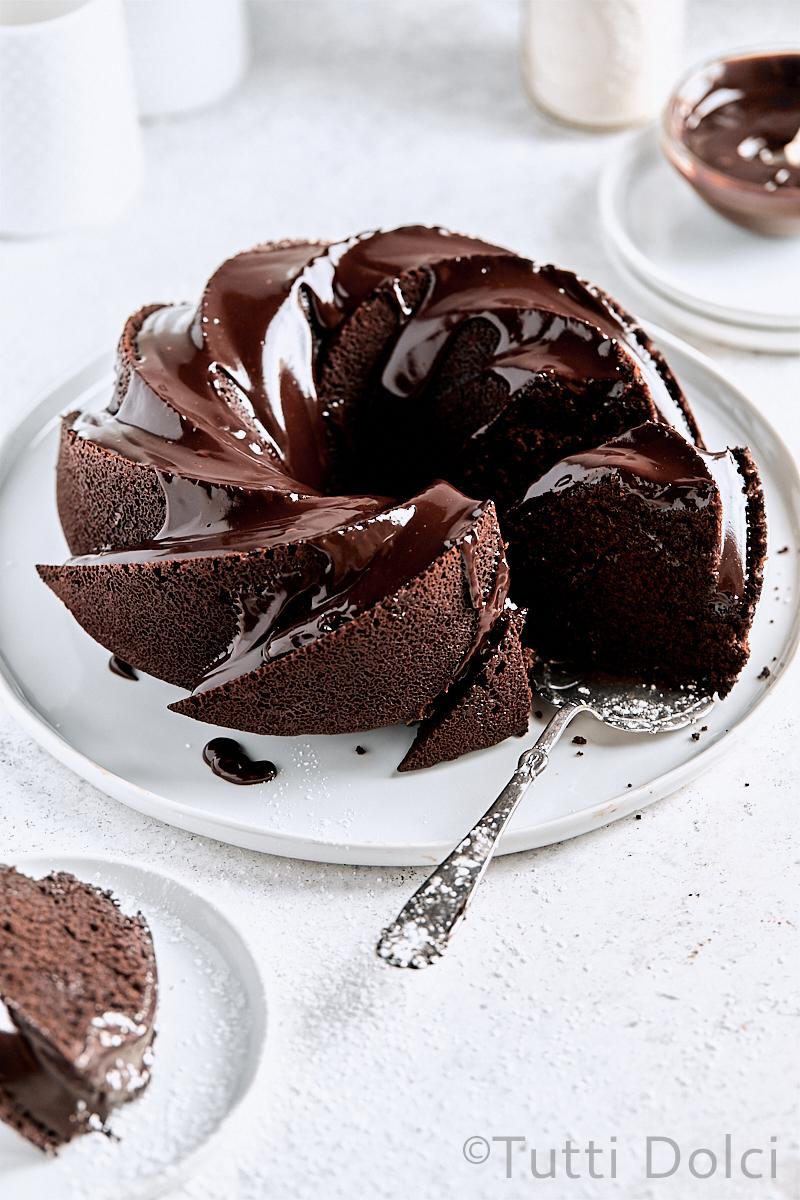 Double Chocolate Bundt Cake Tutti Dolci