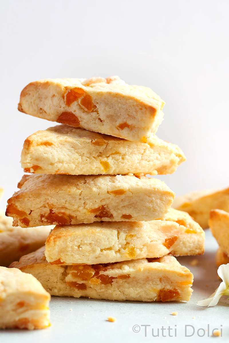 Apricot Almond Scones