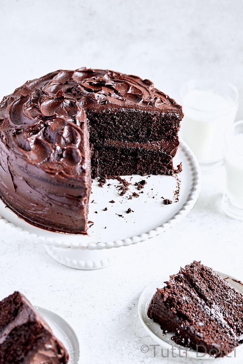 Classic Chocolate Layer Cake Tutti Dolci