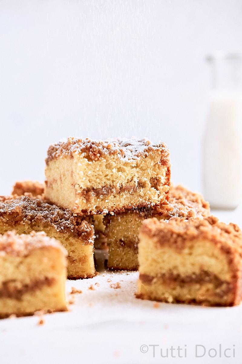 Brown Butter Cinnamon Streusel Coffee Cake
