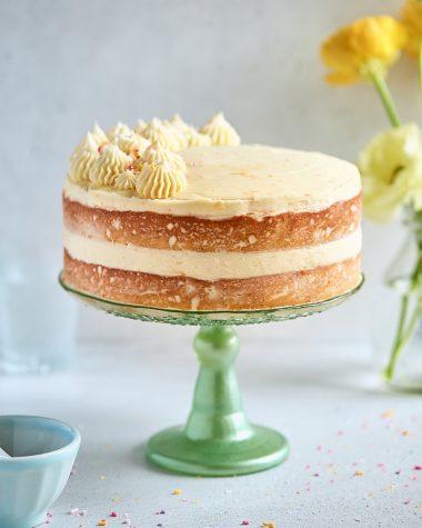 Rum Tangerine Layer Cake