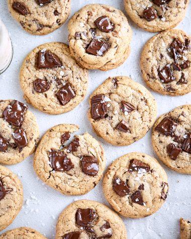 Graham Chocolate Chunk Cookies