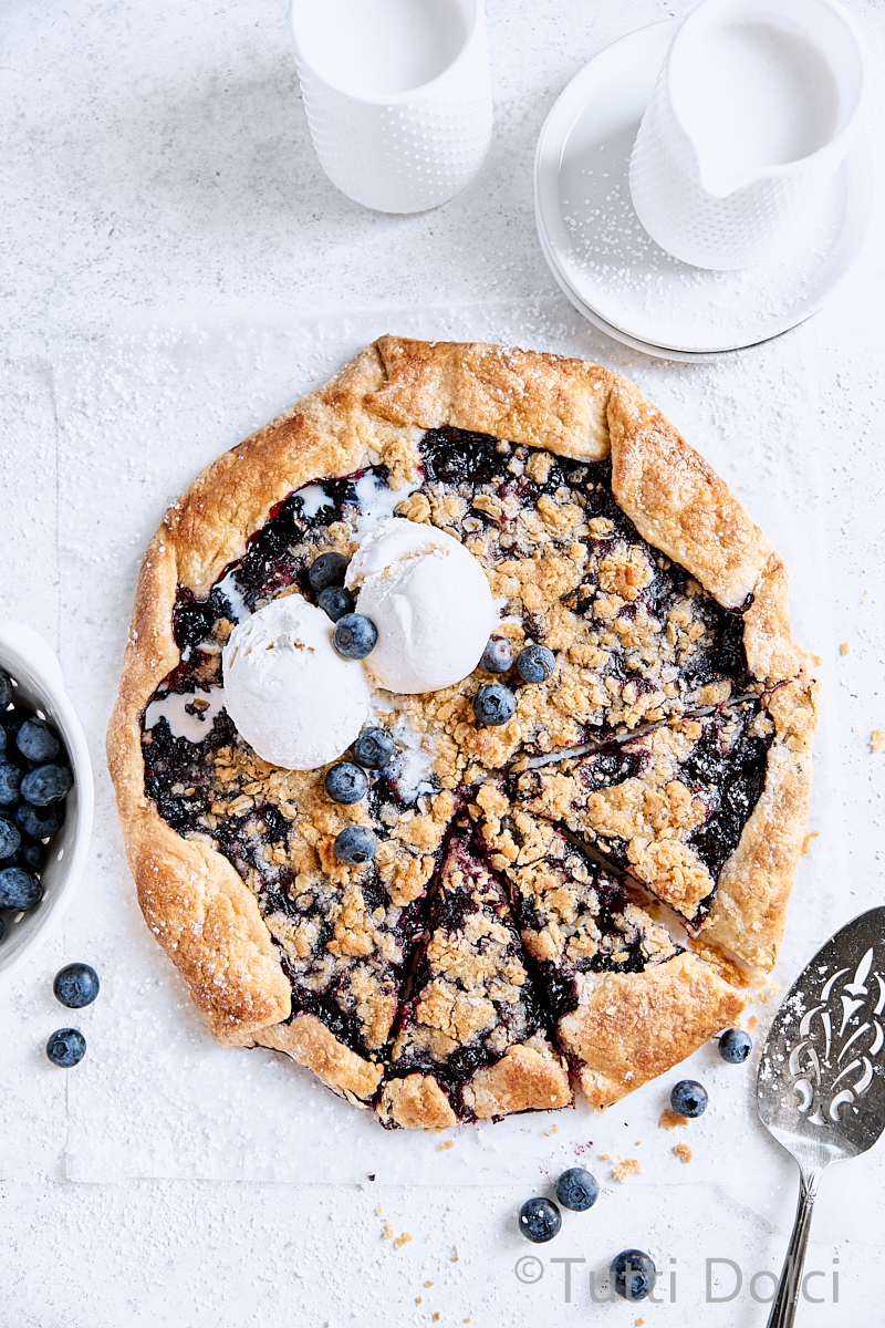 Classic Blueberry Galette