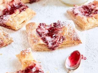 Raspberry Breakfast Pastries