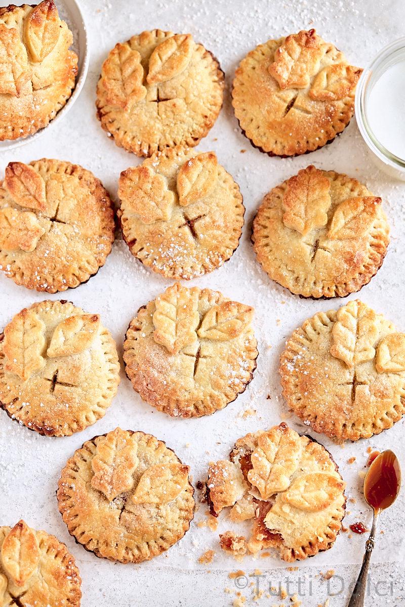 Caramel Pear Hand Pies