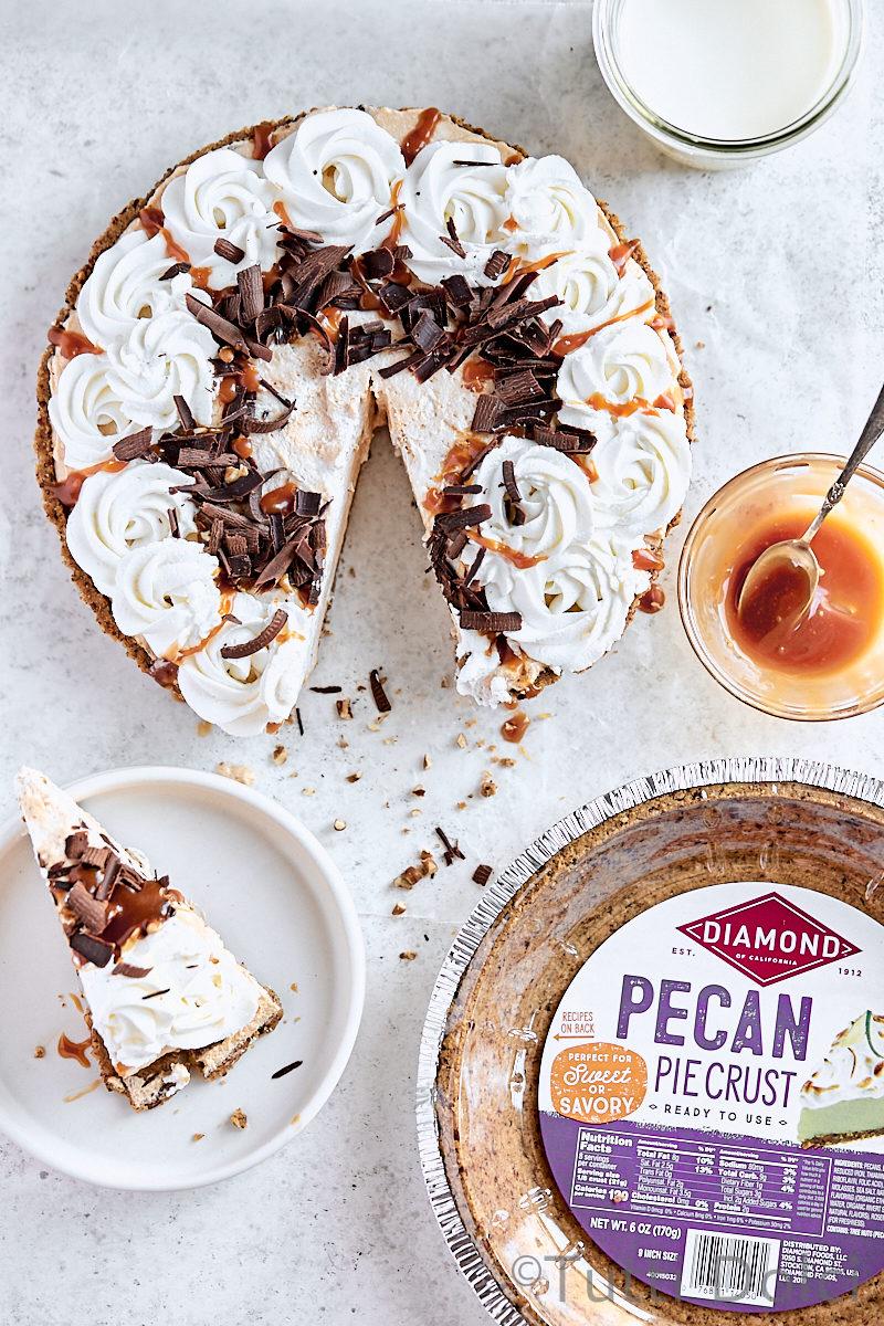 Caramel Pecan Turtle Pie