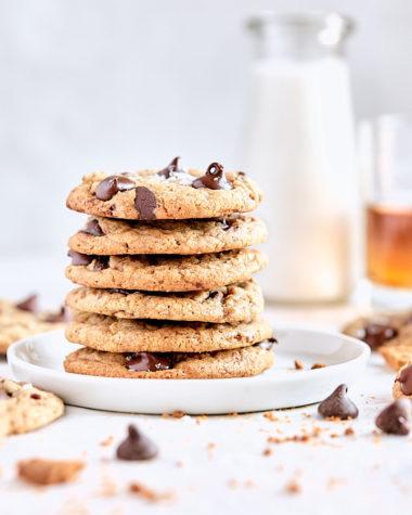 Bourbon Pecan Chocolate Cookies