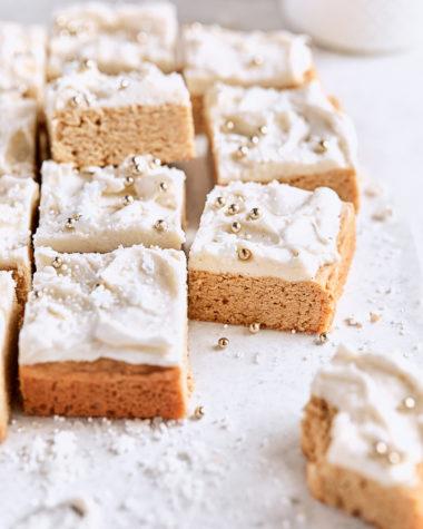 Vanilla Chai Sugar Cookie Bars