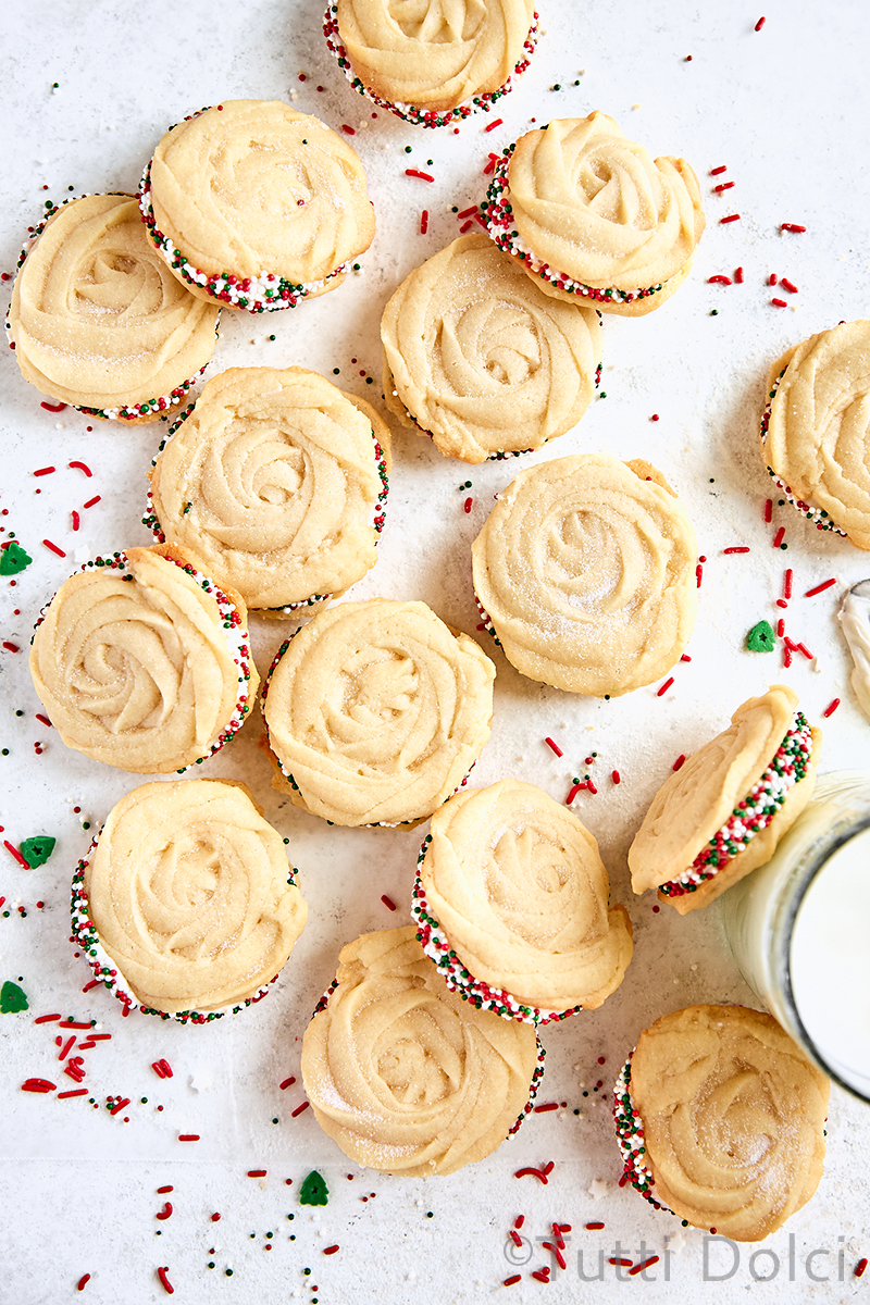 Crème Fraîche Sandwich Cookies