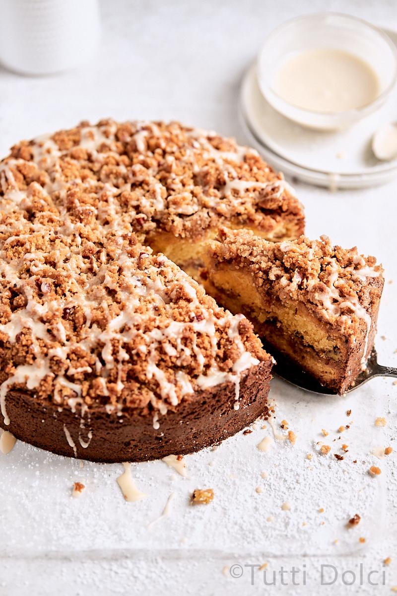 Classic Sour Cream Coffee Cake Tutti Dolci