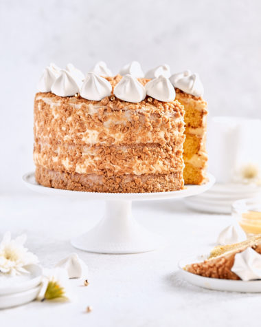 Meyer Lemon Crunch Cake