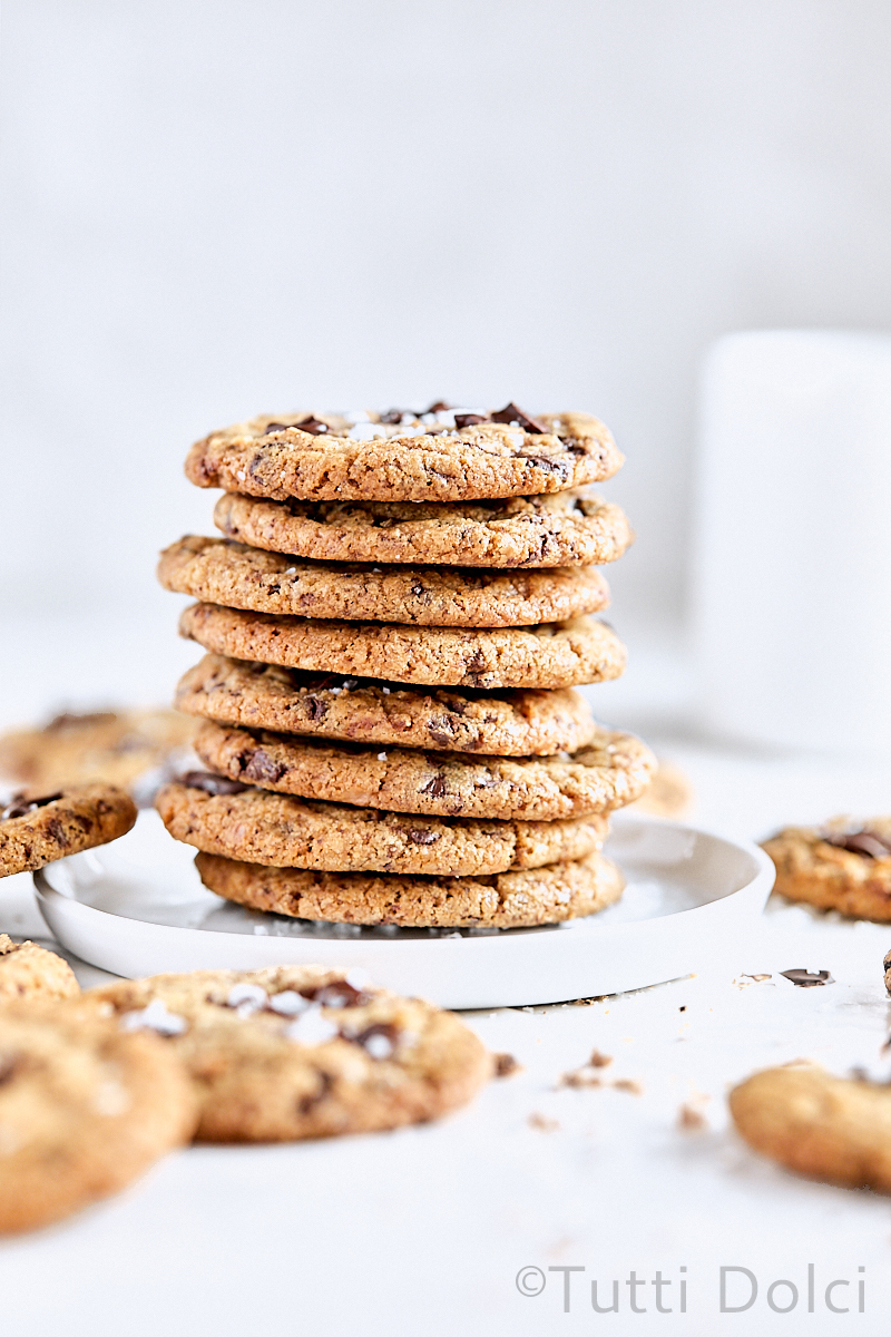 Brown Butter Toffee Chocolate Cookies
