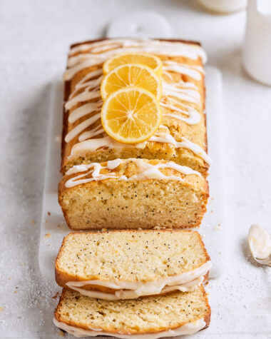 Meyer Lemon Poppy Seed Cake