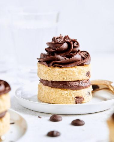 Mini Chocolate Chip Cakes