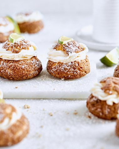 Key Lime Pie Cream Puffs