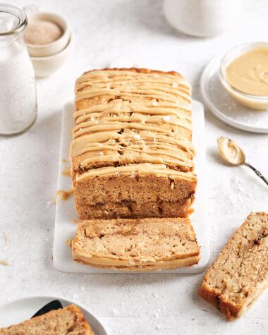 Apple Spice Loaf Cake