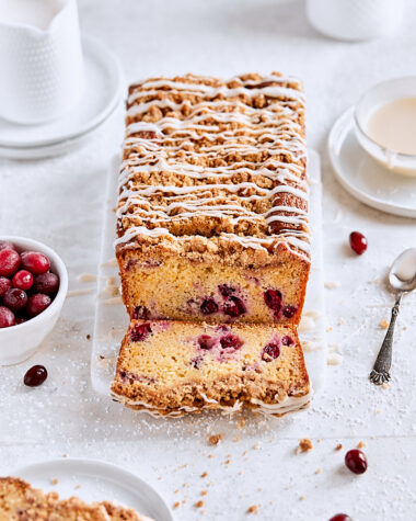Cranberry Streusel Bread