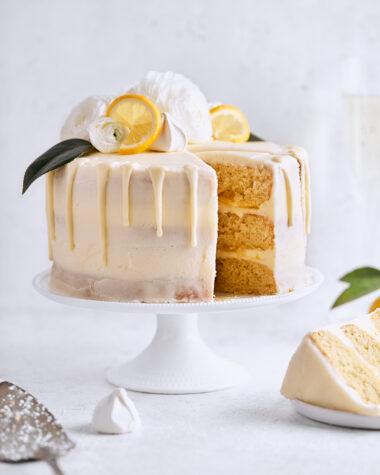 Citrus Champagne Layer Cake | Tutti Dolci