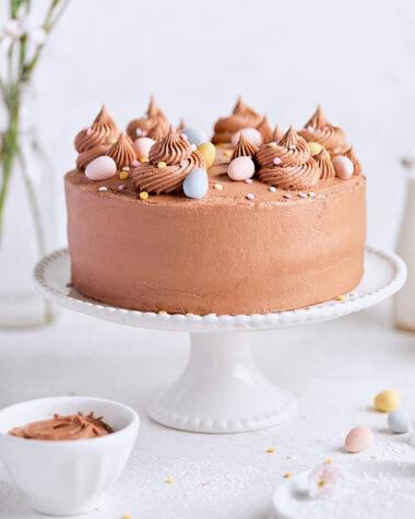 Malted Vanilla Cake