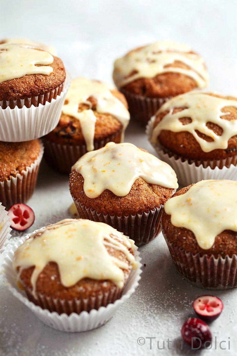 Cranberry Orange Muffins   Tutti Dolci