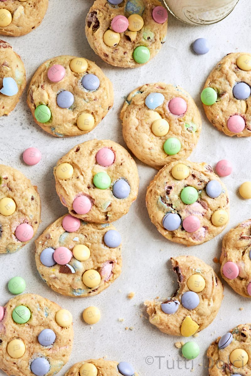 Easter Cheesecake Cookies