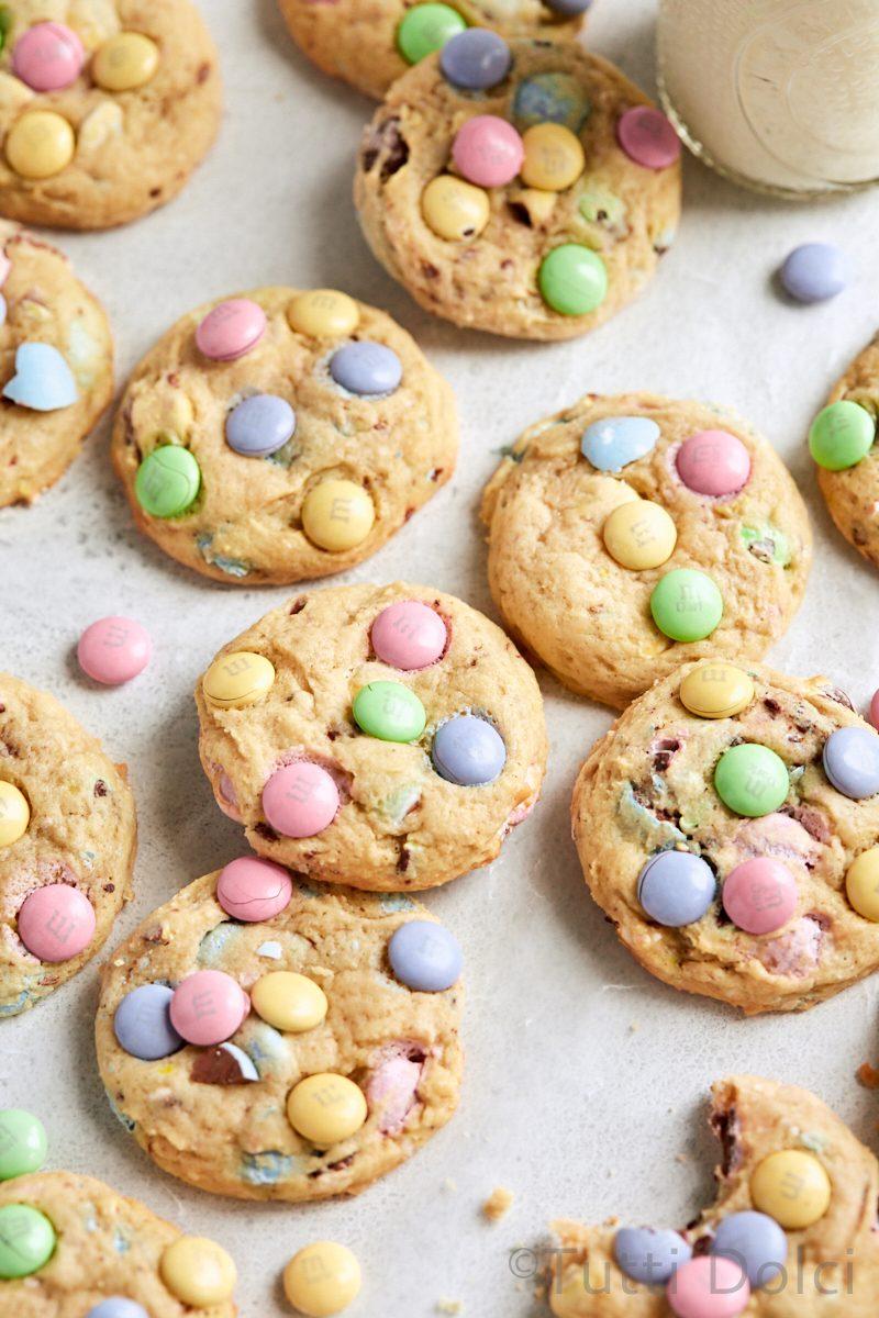 Easter Cheesecake Cookies