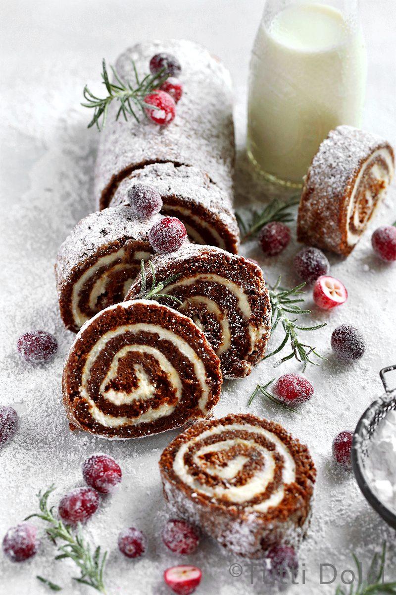 Gingerbread Roll