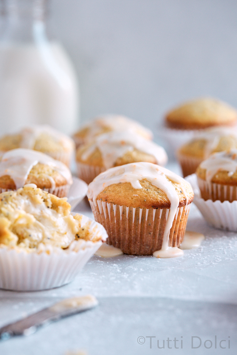 Meyer Lemon Ricotta Muffins