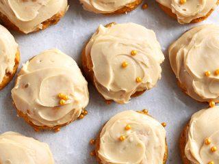Salted Caramel Pumpkin Cookies