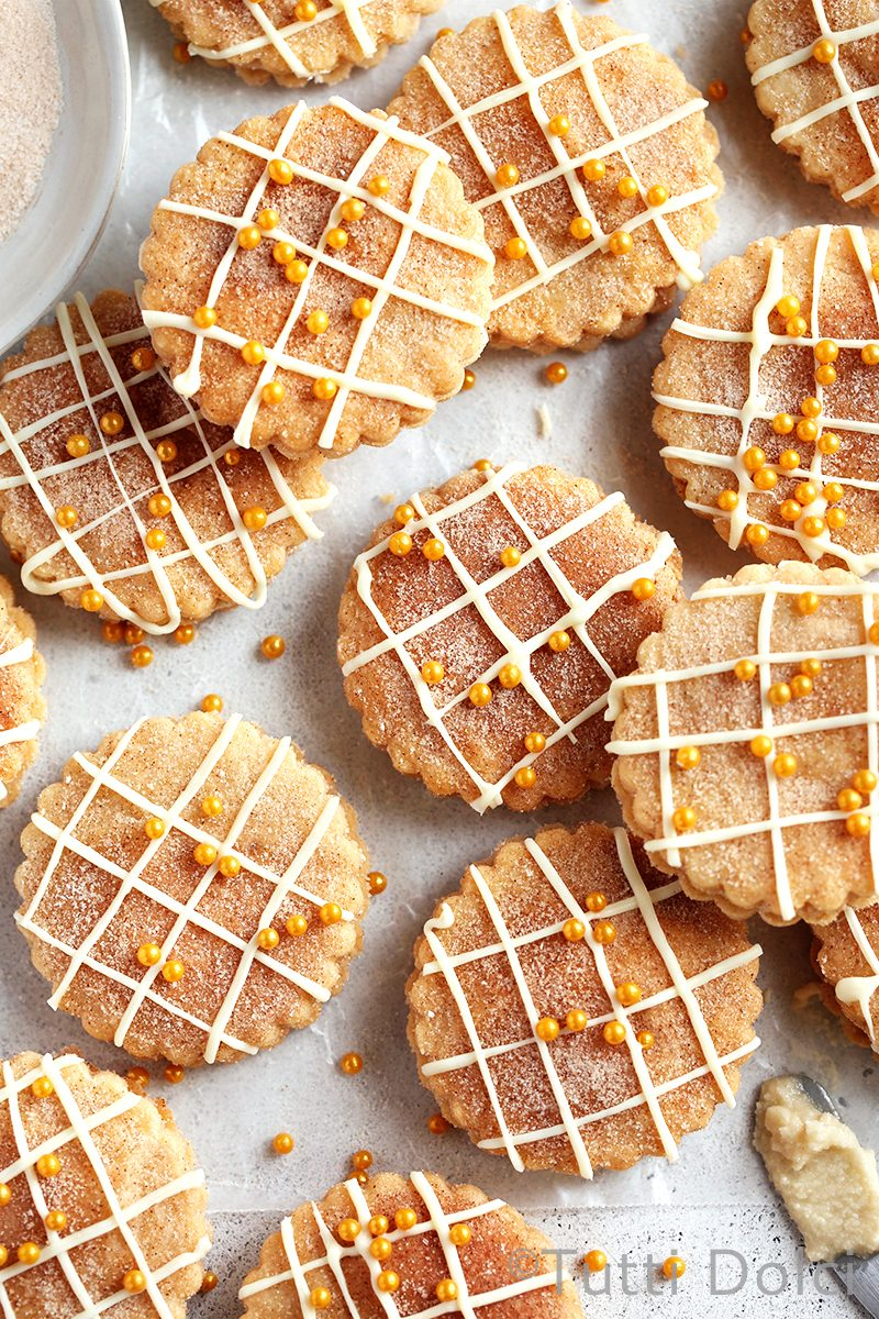 Snickerdoodle Chai Sandwich Cookies
