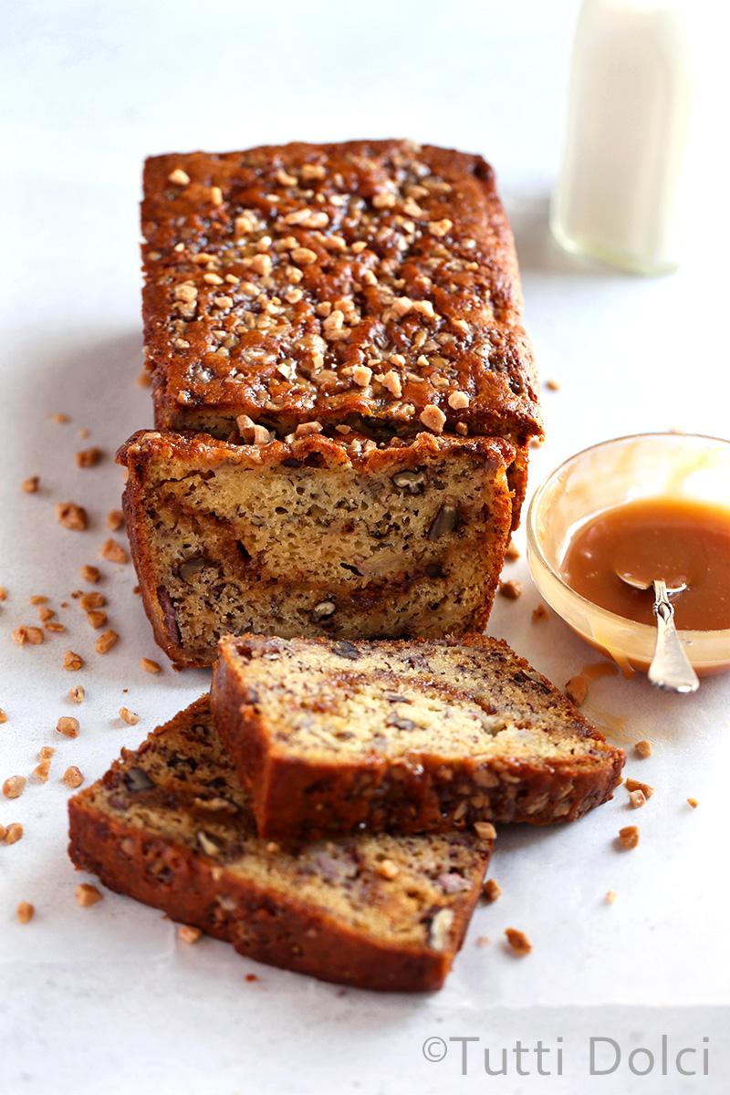 Toffee Banana Bread